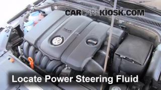 2011 Volkswagen Jetta SE 2.5L 5 Cyl. Sedan Power Steering Fluid Add Fluid