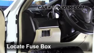 2012 Acura TL 3.5L V6%2FFuse Interior Part 1 transmission fluid level check acura tl (2009 2014) 2012 acura 2000 acura tl fuse box location at cos-gaming.co