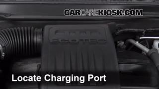 2012 Chevrolet Equinox LT 2.4L 4 Cyl. FlexFuel Air Conditioner Recharge Freon