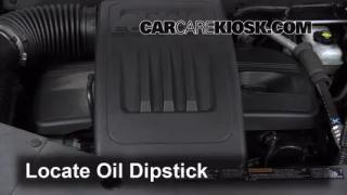 2012 Chevrolet Equinox LT 2.4L 4 Cyl. FlexFuel Oil Check Oil Level