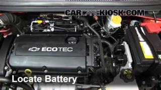 battery replacement 2012 2016 chevrolet sonic 2012 chevrolet how to clean battery corrosion 2012 2016 chevrolet sonic