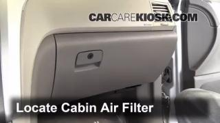 2012 Chevrolet Traverse LS 3.6L V6 Air Filter (Cabin) Replace