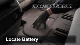 2012 Chevrolet Traverse LS 3.6L V6 Battery Clean Battery & Terminals