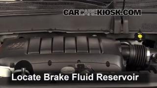 2012 Chevrolet Traverse LS 3.6L V6 Brake Fluid Check Fluid Level