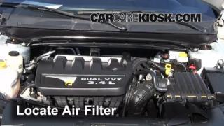 Air Filter How-To: 2008-2014 Dodge Avenger
