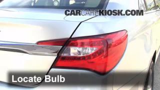 2012 Chrysler 200 LX 2.4L 4 Cyl. Sedan (4 Door) Lights Reverse Light (replace bulb)