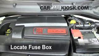 replace a fuse 2012 2016 fiat 500 2012 fiat 500 pop 1 4l 4 cyl blown fuse check 2012 2016 fiat 500
