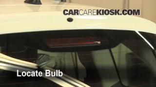 Third Brake Light Bulb Change Fiat 500 (2012-2014)