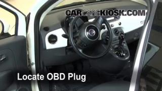 2012 Fiat 500 Pop 1.4L 4 Cyl. Check Engine Light Diagnose
