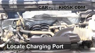 2012 Ford F-150 XLT 5.0L V8 FlexFuel Crew Cab Pickup Air Conditioner Recharge Freon