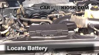 2012 Ford F-150 XLT 5.0L V8 FlexFuel Crew Cab Pickup Battery Clean Battery & Terminals