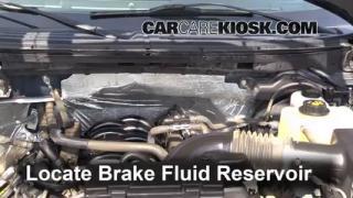 2012 Ford F-150 XLT 5.0L V8 FlexFuel Crew Cab Pickup Brake Fluid Check Fluid Level