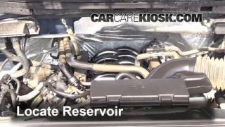 2012 Ford F-150 XLT 5.0L V8 FlexFuel Crew Cab Pickup Windshield Washer Fluid Add Fluid