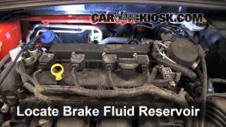 Add Brake Fluid: 2012-2016 Ford Focus