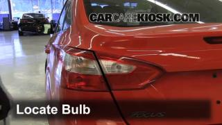 2012 Ford Focus SE 2.0L 4 Cyl. Sedan Lights Reverse Light (replace bulb)