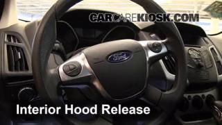 Open Hood How To 2012-2016 Ford Focus