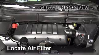 Air Filter How-To: 2007-2013 GMC Acadia