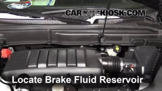 Add Brake Fluid: 2007-2013 GMC Acadia
