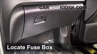 Interior Fuse Box Location: 2007-2013 GMC Acadia