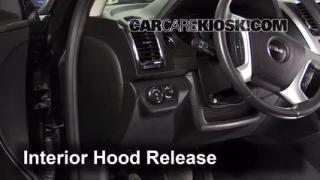 Open Hood How To 2007-2013 GMC Acadia
