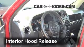 Open Hood How To 2007-2016 Jeep Patriot