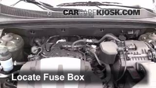 2012 Kia Sorento EX 3.5L V6 Fuse (Engine) Check