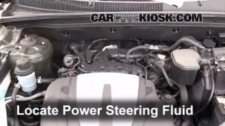 Follow These Steps to Add Power Steering Fluid to a Kia Sorento (2011-2011)