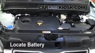 Battery Replacement: 2010-2013 Kia Soul
