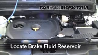 2012 Kia Soul ! 2.0L 4 Cyl. Brake Fluid Add Fluid