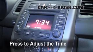How to Set the Clock on a Kia Soul (2010-2013)