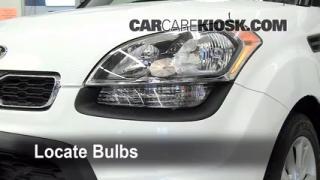 Parking Light Change 2010-2013 Kia Soul