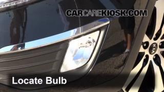 2012 Kia Sportage EX 2.4L 4 Cyl. Lights Fog Light (replace bulb)
