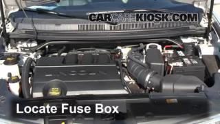2012 Lincoln MKT 3.7L V6%2FFuse Engine Part 1 replace a fuse 2010 2016 lincoln mkt 2012 lincoln mkt 3 7l v6 2014 lincoln mkz fuse box location at bakdesigns.co