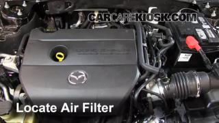 Air Filter How-To: 2009-2013 Mazda 6