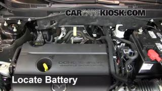 How to Clean Battery Corrosion: 2009-2013 Mazda 6