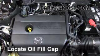 How to Add Oil Mazda 6 (2009-2013)