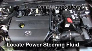 Check Power Steering Level Mazda 6 (2009-2013)