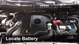 2012 Nissan Juke S 1.6L 4 Cyl. Turbo%2FBattery Locate Part 1 interior fuse box location 2011 2016 nissan juke 2012 nissan nissan serena fuse box location at readyjetset.co