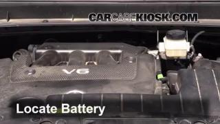 2012 Nissan Murano SL 3.5L V6 Battery Jumpstart