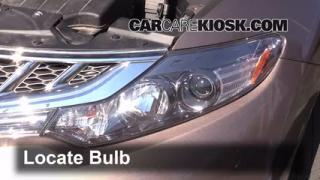 Parking Light Change 2009-2014 Nissan Murano