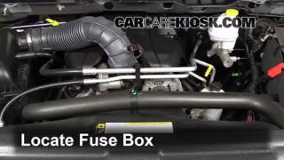 interior fuse box location ram ram slt blown fuse check 2011 2016 ram 1500