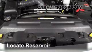 2012 Ram 1500 SLT 5.7L V8 Crew Cab Pickup Windshield Washer Fluid Check Fluid Level