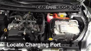 2012 Toyota Prius C 1.5L 4 Cyl. Aire Acondicionado Agregar Freón