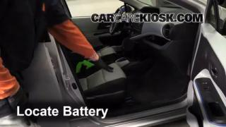 2012 Toyota Prius C 1.5L 4 Cyl. Battery Jumpstart