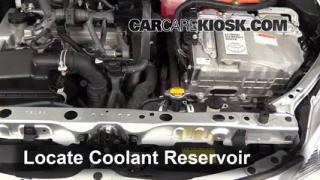 2012 Toyota Prius C 1.5L 4 Cyl. Mangueras Sellar pérdidas