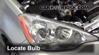 Reverse Light Replacement 2012 2015 Toyota Prius C 2012