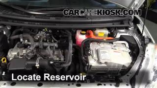 Add Windshield Washer Fluid Toyota Prius C (2012-2015)