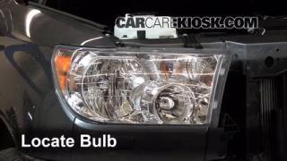 2012 Toyota Sequoia SR5 4.6L V8 Lights Headlight (replace bulb)