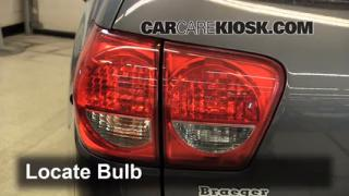 Tail Light Change 2008-2014 Toyota Sequoia