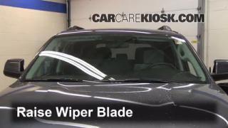 Front Wiper Blade Change Toyota Sequoia (2008-2014)